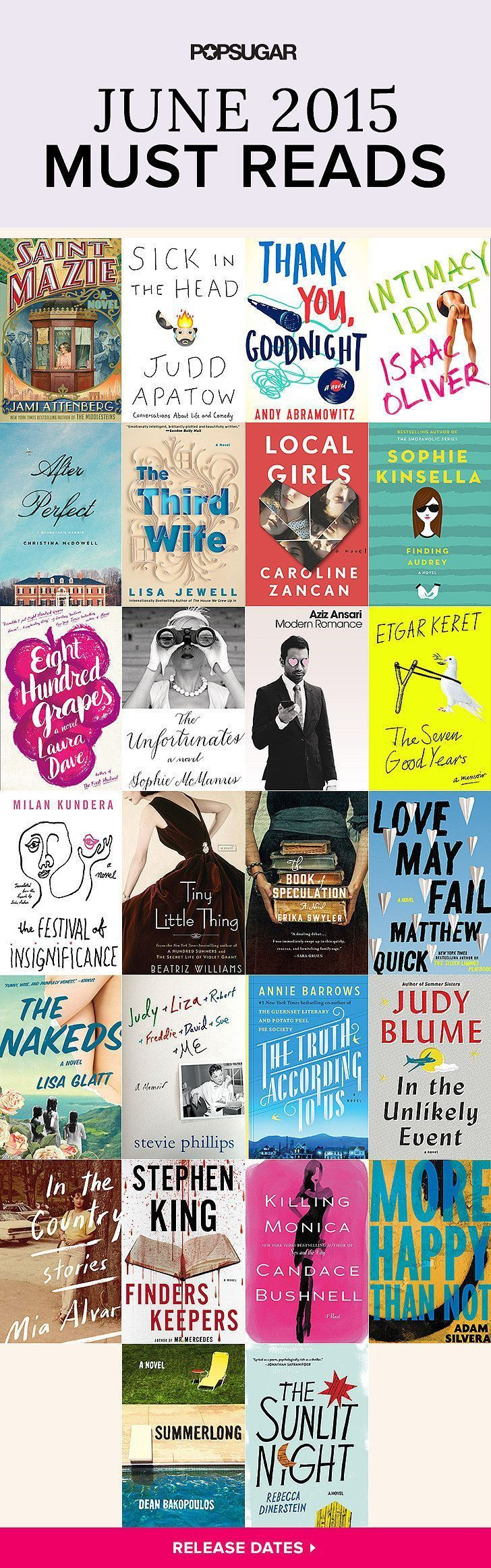 If You're Looking For Some Brandnew Books To Add To Your Summer