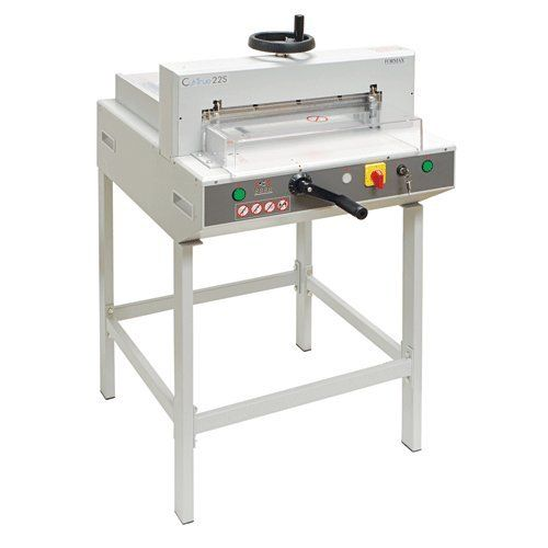 Formax CUT-TRUE22S SEMI-AUTOMATIC GUILLOTINE C. Product Types: Guillotine Cutter| Header / Model: Cut-True 22S| Manufacturer Warranty: 90 day limited warranty on parts, excluding wearables and labor.