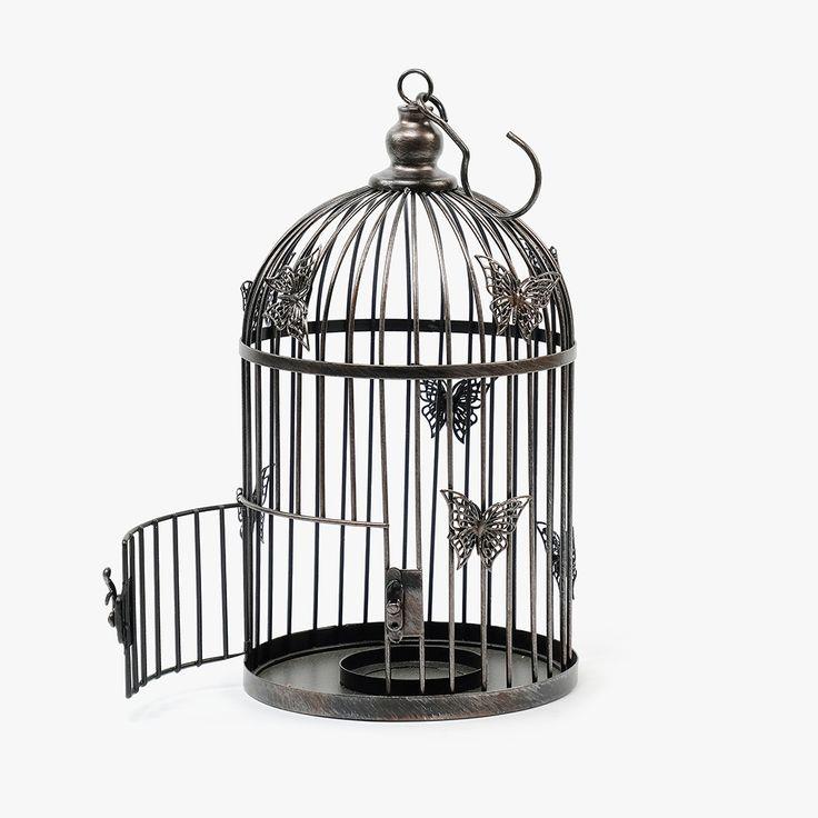 Lanterna Gaiola 20 x 37 cm | referência 41673385 | A Loja do Gato Preto | #alojadogatopreto | #shoponline