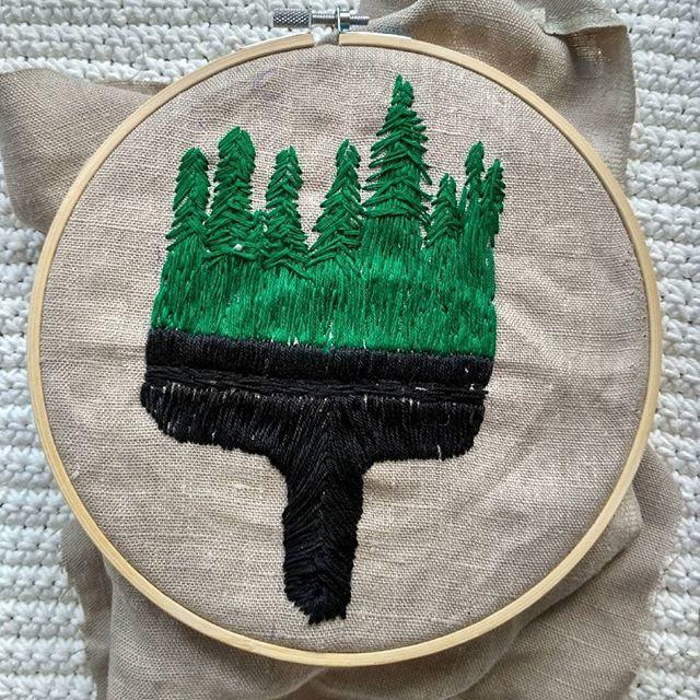 Green Embroidery https://www.facebook.com/oplotki/
