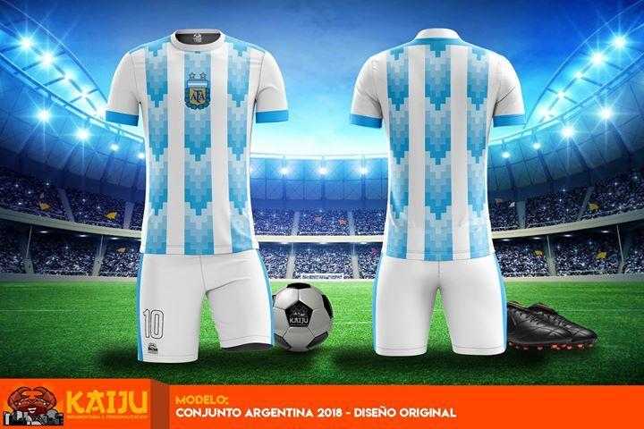 Camiseta Mundial Rusia 2018 Presentamos Nuestra Versión De La Camiseta Argentina 2018 Este Modelo Presenta Detal Mejores Camisetas Modelos Argentina 2018