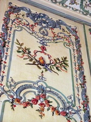 These are all examples of the walls found in Versailles ~ The wife of the Dauphin's apartment.