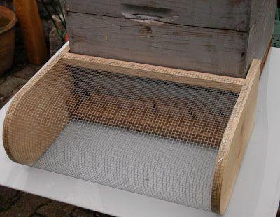Ouessant notre passion: Protéger nos abeilles contre le frelon asiatique: (Proto muselière)