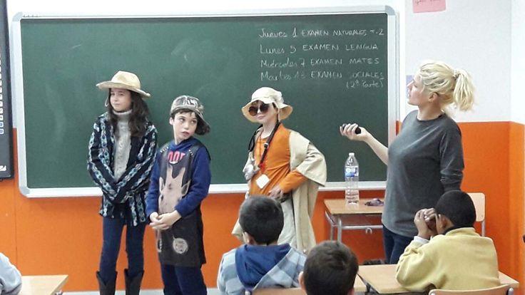 Durante el mes de noviembre hemos realizado actividades donde la lengua inglesa ha sido la protagonista.