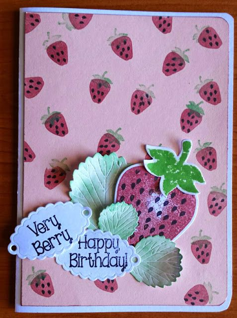 BellesCreations.gr: Happy Brithday card