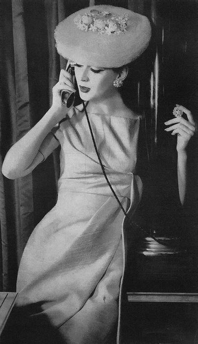Dovima <3 Vogue 1956