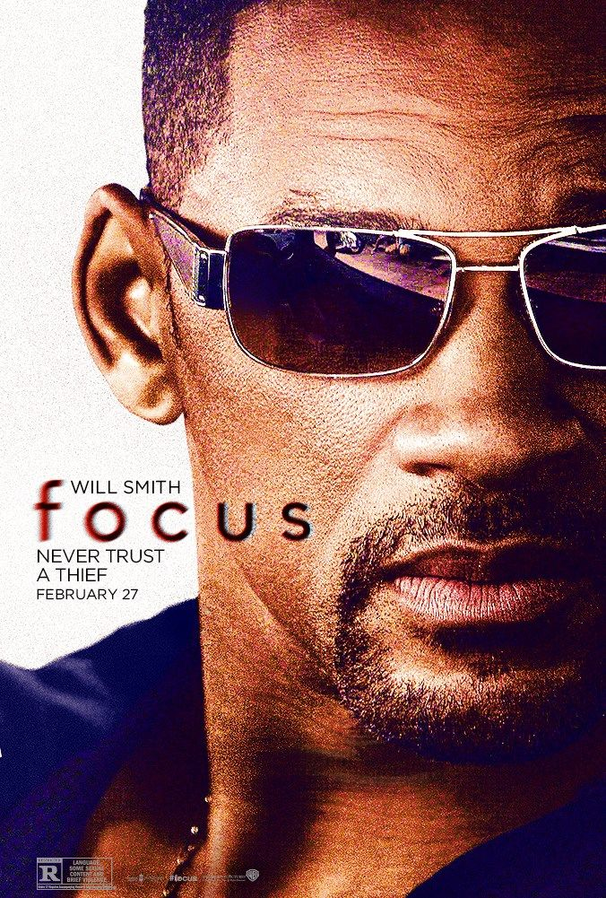 Never trust a thief. Catch Will Smith and Margot Robbie in the new trailer for #Focus.
