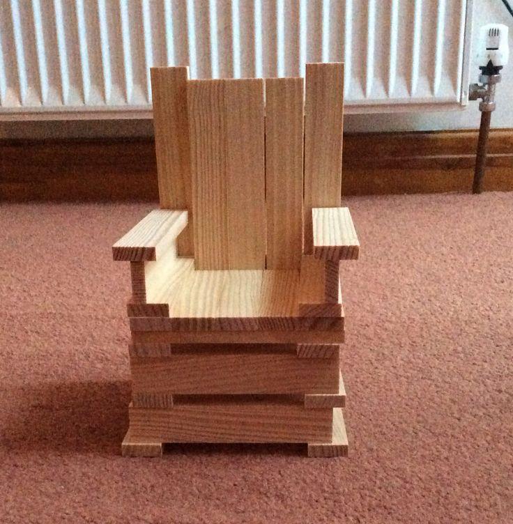 Kapla bricks chair that I made