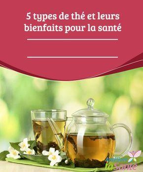 5 types de thé et leurs bienfaits pour la santé  Boire du thé est-il bon pour la santé ? Quels types de thé boire et dans quels cas ? Nous vous invitons à connaître les différents thés et leurs propriétés.