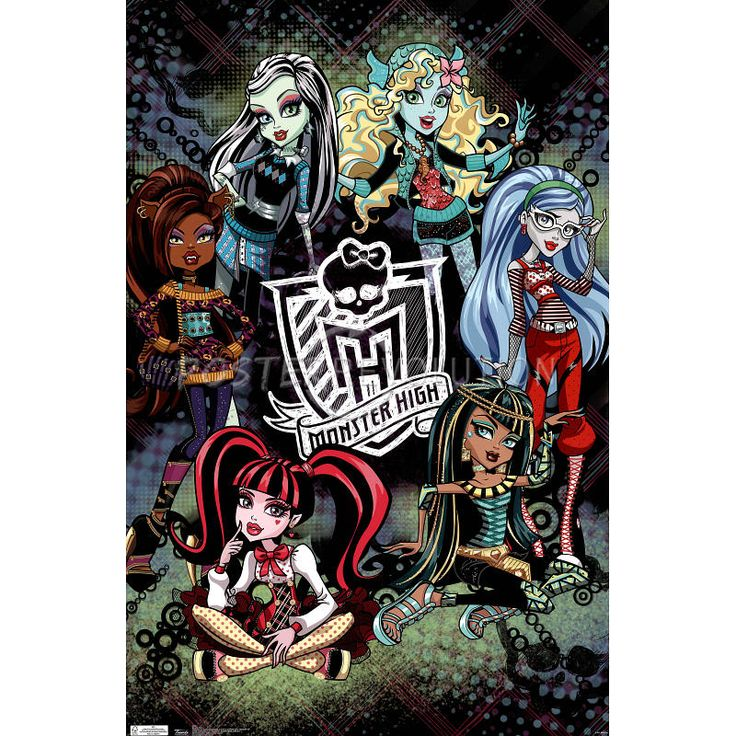 Monster High Wall Decor 46 best monster high images on pinterest | monster high dolls