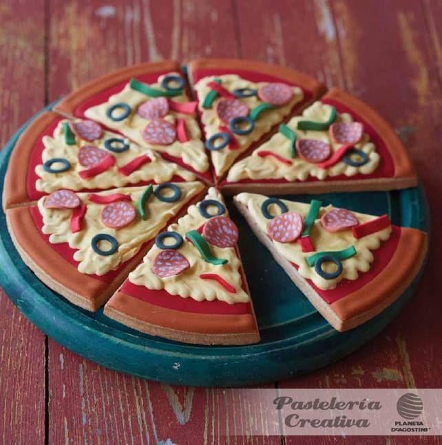 Esta noche no te lo pienses #pizza!!! jajaja  Foto de: Planeta DeAgostini