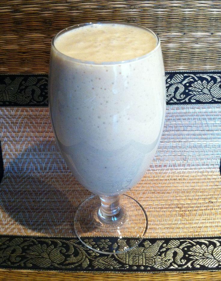 Молочный коктейль с фруктами и творогом. Мамулины рецепты