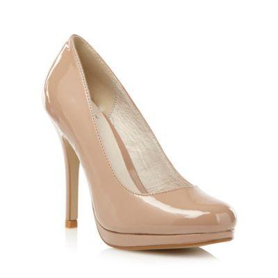 Faith Natural patent court shoes- at Debenhams.com