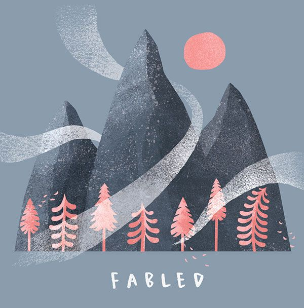 Fabled EP artwork on Behance