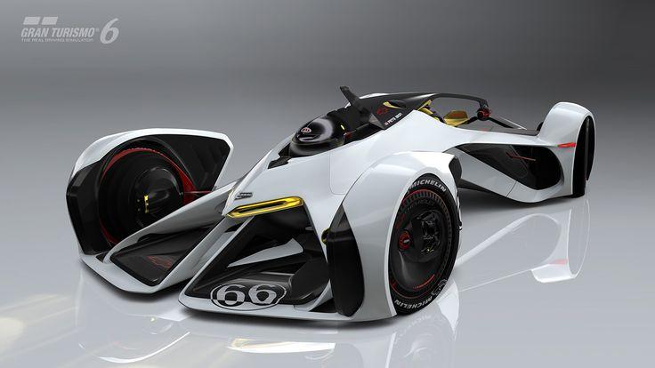 El Chevrolet Chaparral 2X Vision Gran Turismo, concebido como un prototipo experimental de Le Mans