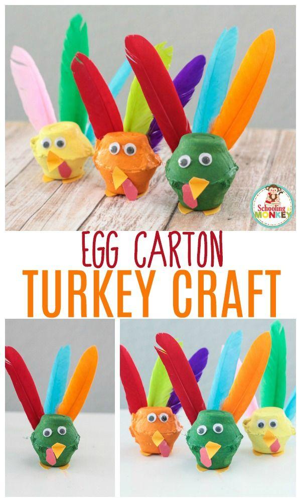 Easy Preschool Crafts For Thanksg