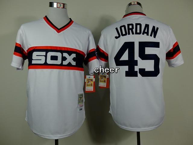 Men's MLB Chicago White Sox #45 Jordan White Jersey