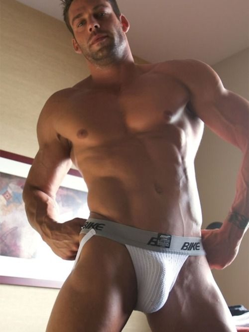Show-Off | Hunk in jockstrap #Underwear #Men: Athletic Supporter, Sexy, Underwear, Male, Jockstraps, Guys, Bulge, Hot Men