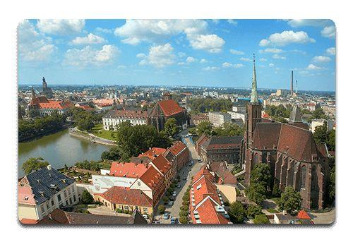 Wrocław widok na miasto #wrocław #bhpWrocław #bhp