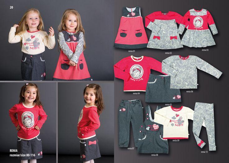 Ubranka dla dziewczynek z nowej kolekcji jesienno-zimowej od MMDadak  http://www.mmdadak.com