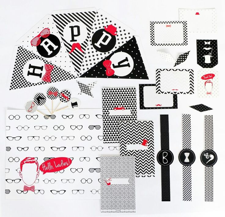 Our Gentleman party kit party supplies is now available on Etsy! To purchase our party kit in digital PDF files (instant download) please go to this address: http://www.etsy.com/shop/RabbitaboveRainbow