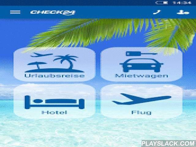 CHECK24 Reisen  Android App - playslack.com ,  Hier check ich meinen Urlaub beim Testsieger.*Vergleichen, buchen, sparen: z. B. mit dem Reisevergleich über 1.000 €, Urlaubsreisen ab 149 € pro Person für 1 Woche inkl. Flug, über den Flugvergleich ab 29 € pro Person (Einzelflug), mit dem Mietwagen Preisvergleich ab 5 € pro Tag. Mit CHECK24 Reisen vergleichen Sie Preise und Konditionen in Echtzeit: » Pauschalreisen & Last Minute – große Auswahl vom Stadt- bis zum Strandhotel, inklusive…