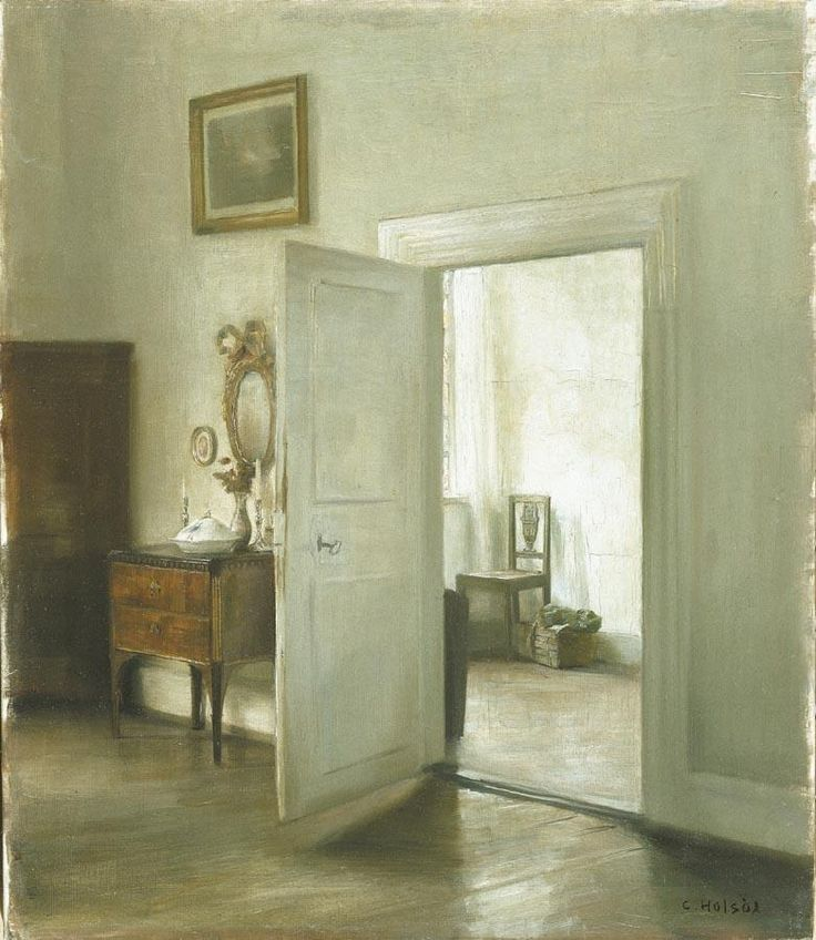 Carl Vilhelm Holsøe (Danish, 1863-1935) - Interior