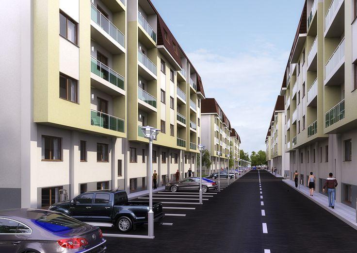 Ansamblu rezidential, Berceni, Sector 4.