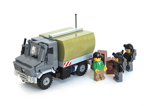 Military Transport Unimog by Ironsniper on Flickr
