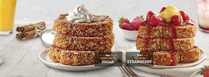 IHOP's New French Toast Is Double Dipped In Oatmeal And Corn Flakes