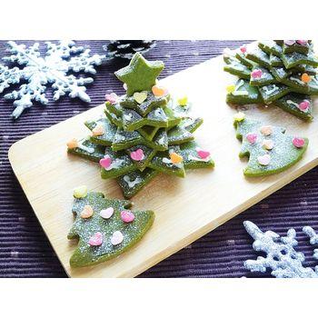 クミタス レシピ 米粉のクッキーツリー (卵・乳・小麦・大豆不使用)