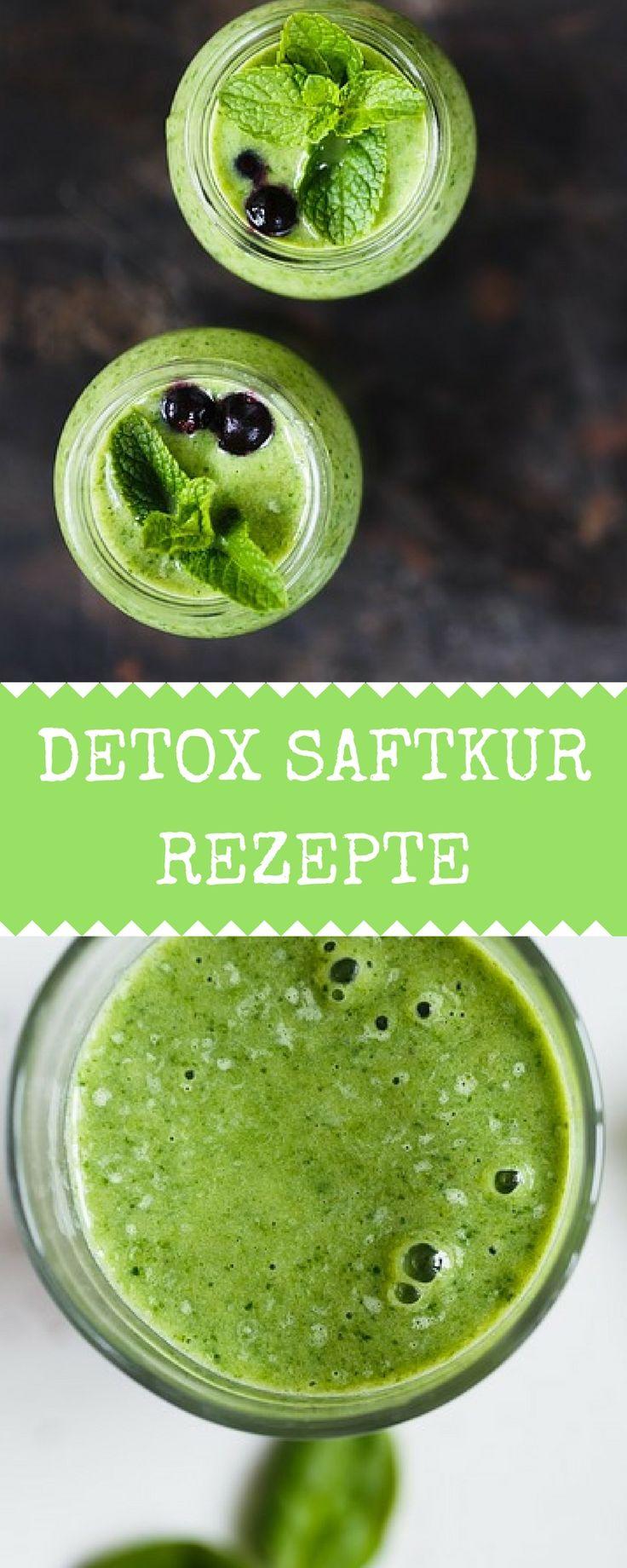 Detox Saftkur Rezepte zum Entgiften, gesund werden und abnehmen. Mit diesen 5 Saft Rezepten wirst du dich gesünder und wohler fühlen.http://entsafter-kaufen.info/detox-saftkur-rezepte/  Saftfasten, Rezepte für grüne Säfte, abnehmen mit grünen Säften, Detox Saftkur, Entsafter Rezepte, Rezept grüne Säfte