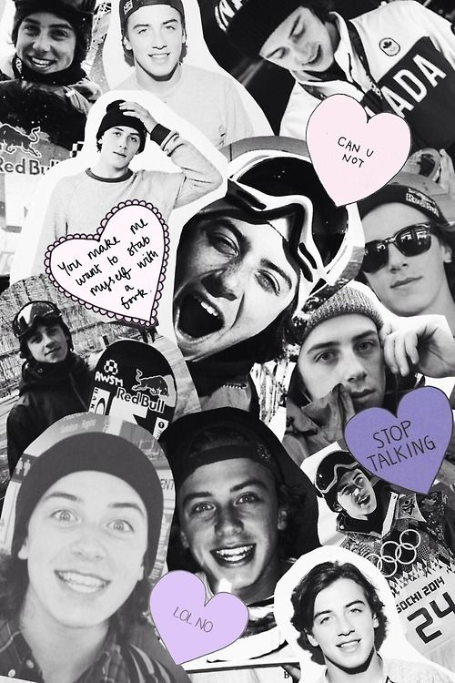 Let's just take a moment to appreciate how  adorable Mark McMorris is