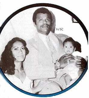 Rocky Johnson (Wade Bowles), with his former wife Ata Maivia Johnson, & their only child Dwayne Johnson (The Rock)