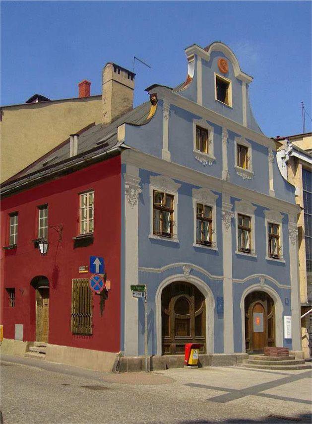 A Baroque building, Chrobrego Square, Bielsko-Biała, Poland