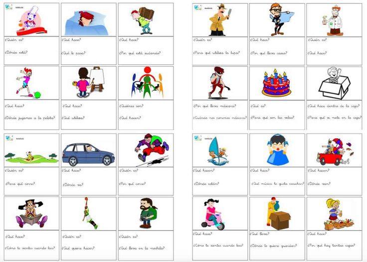 Contestar a preguntas. Estimulación del lenguaje infantil