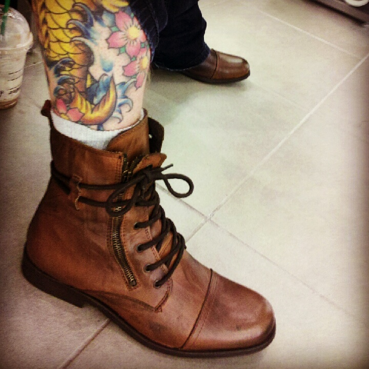 Tattoo & boots in Moncton, NB