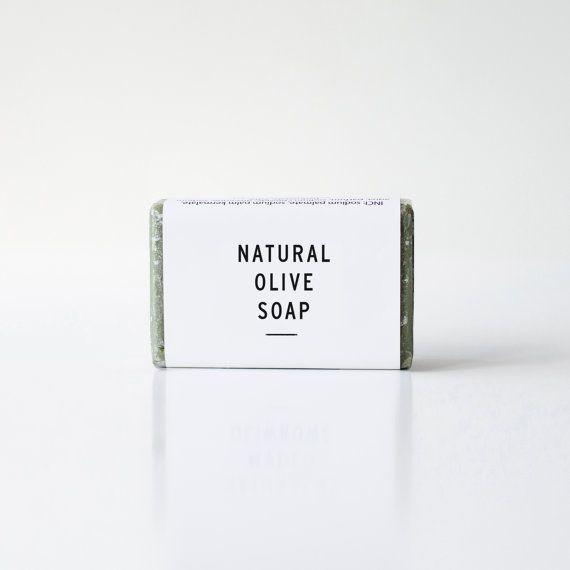 Organic Olive Soap  FAVOURS by ekodizajn on Etsy