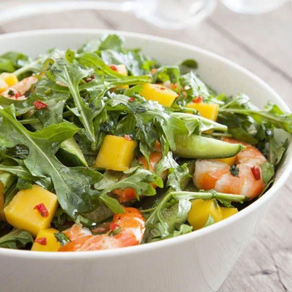 Mango and Prawn Salad  #recipe  #Mangoes
