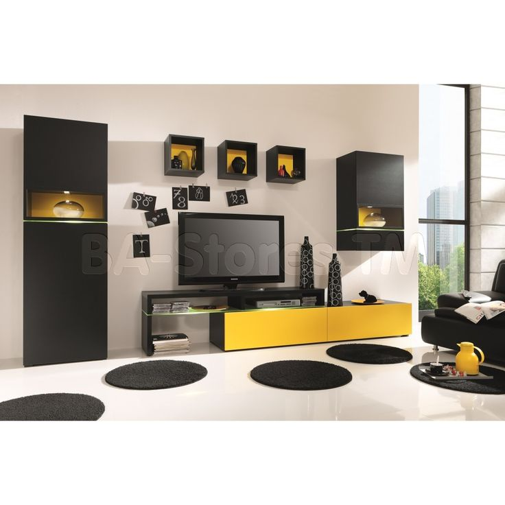 Amsterdam Combination 11087 Modern Wall Unit By Creative Furniture
