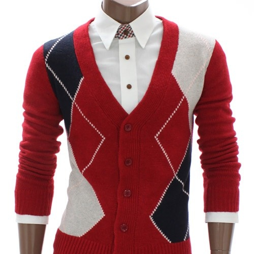 SLS Distributors Men's Boutique, LLC - Argyle Sweater Cardigan, $62.89 (http://www.slsdistributors.com/outerwear/cardigans/argyle-sweater-cardigan/)