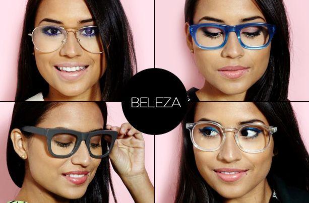 Make + Óculos
