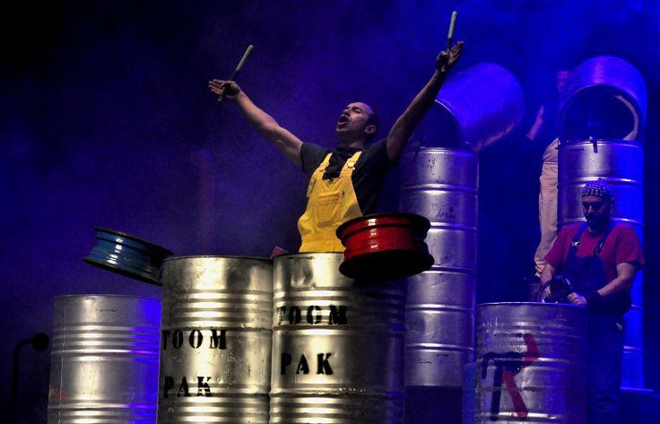 Los tachos son los tambores que alcanzan sonidos increíbles...