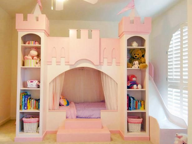 diy stuff little girl bedrooms | Princess-Inspired Girls' Rooms : Page 02 : Interior Remodeling : HGTV ...