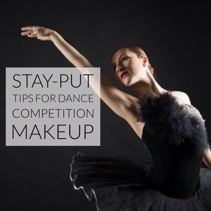 Get your game face on with these stay-put dance competition makeup tips.