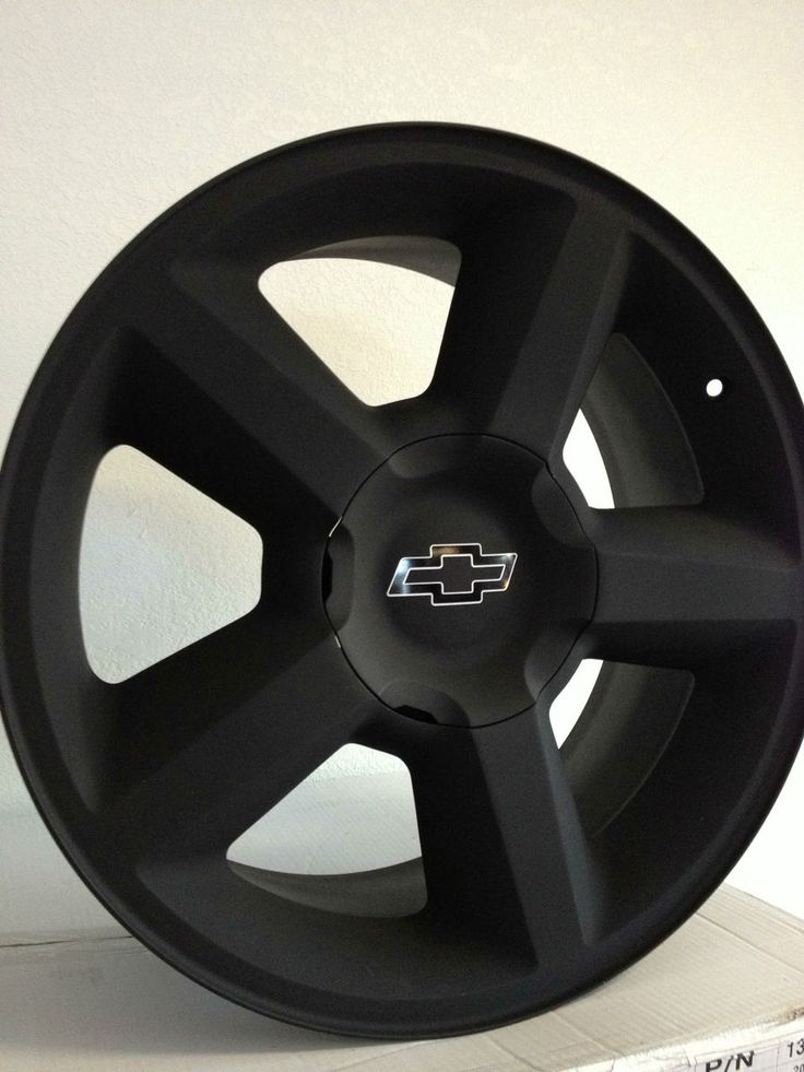 Black Chevrolet Silverado Tahoe Avalanche LTZ Factory Rims 20x8 5