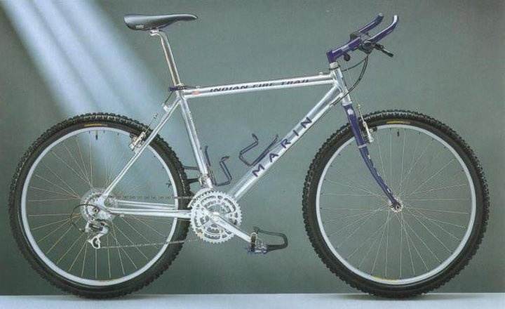 My First Mtb Bike 1993 Marin Indian Fire Trail Stolen Within 4