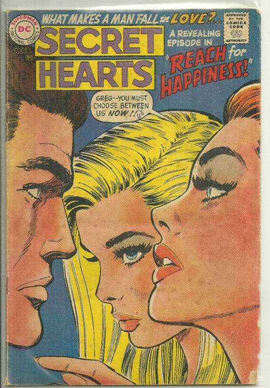 Secret Hearts #126 (DC Romance Comic) | eBay