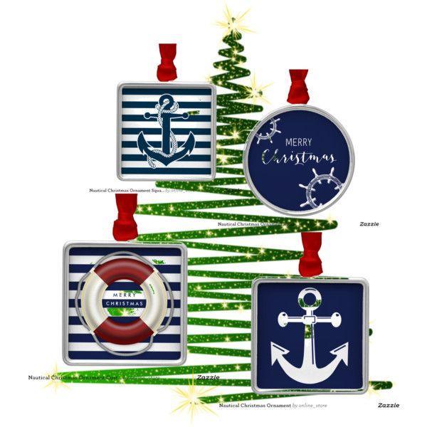 22 best Nautical Christmas Ornament images on Pinterest  Nautical