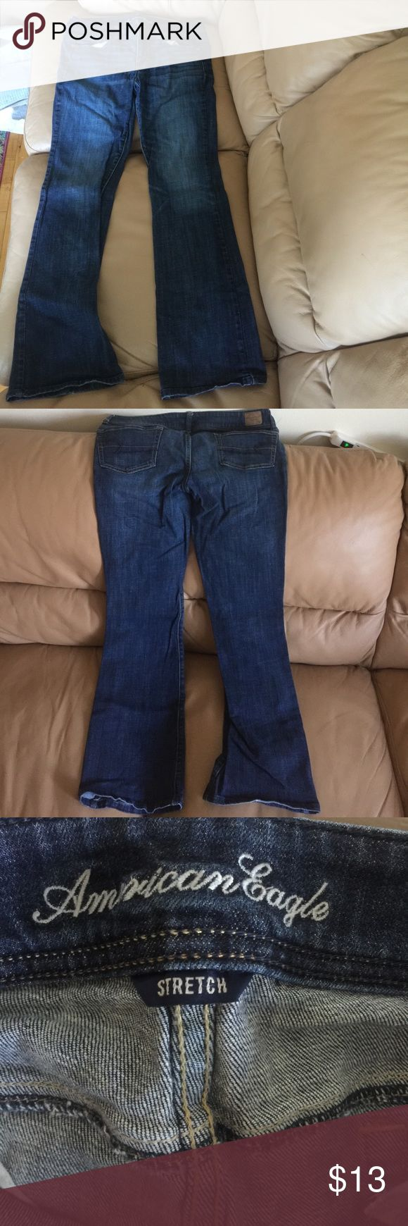 American Eagle Outfitters Jeans American Eagle Jeans... original bootcut . In great condition no fraying... ACCEPTING OFFERS*** American Eagle Outfitters Jeans Boot Cut
